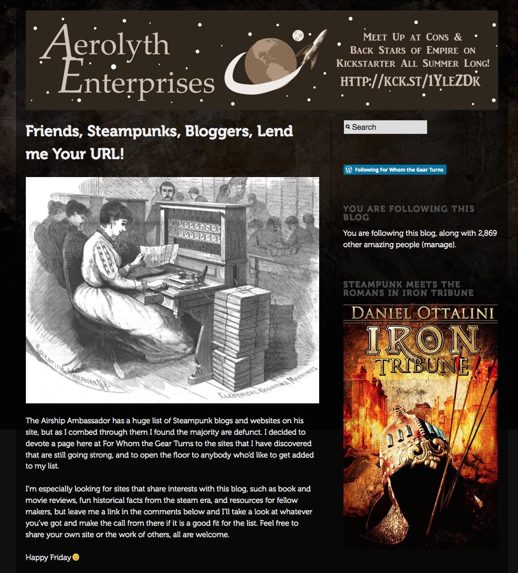 Iron Tribune Advertisement!