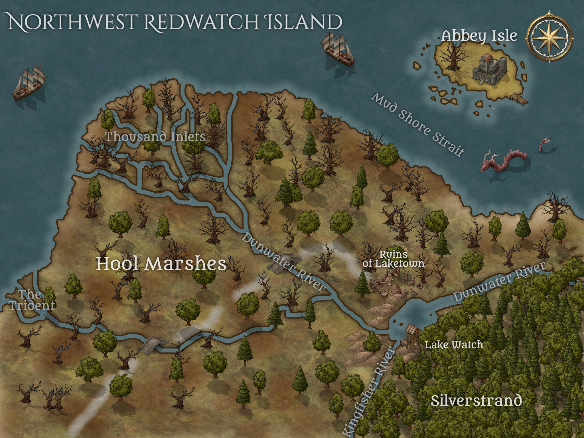 North West Redwatch Island