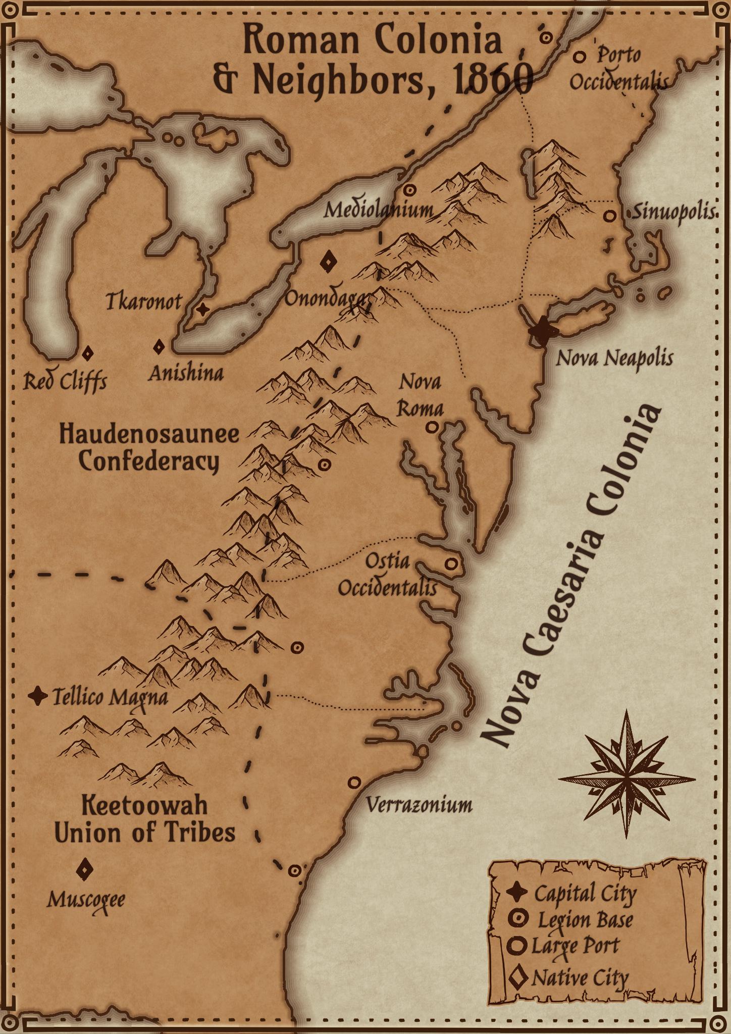Colonies of New Caesaria(2)