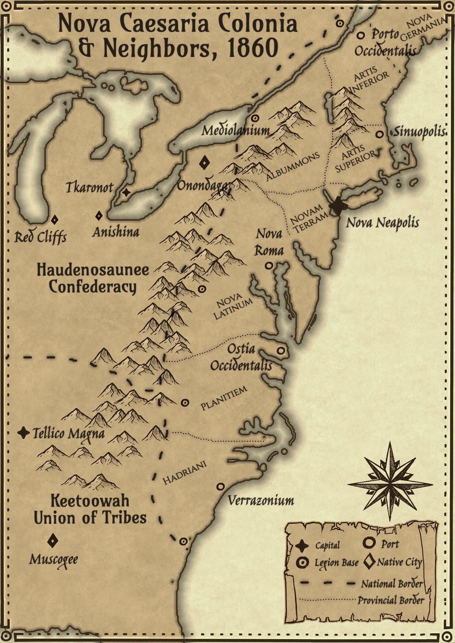 Colonies of New Caesaria(4)